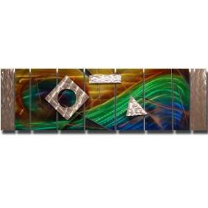 Abstract Metal Wall Art Home Decor, By Jon Allen