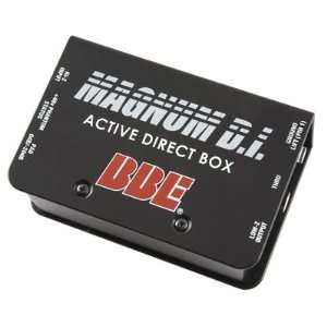 BBE DI50X Active Direct Box Musical Instruments