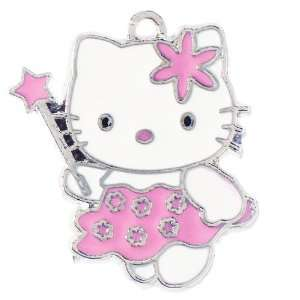 12X DIY Jewelry Making Hello Kitty fairy dress enamel