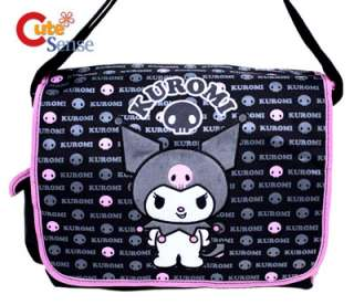 Sanrio Kuromi School Messenger Bag  Diaper Skull Bag