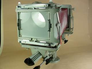 GRAFLEX GRAPHIC VIEW CAMERA 4x5 KODAK 203mm LENS 76783016996