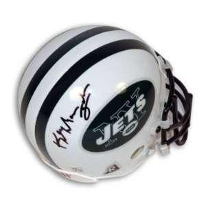 Keyshawn Johnson Signed New York Jets Mini Helmet