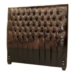 Artisan Tufted Headboard   Leather King Headboard