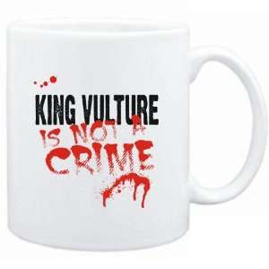 Mug White  Being a  King Vulture is not a crime