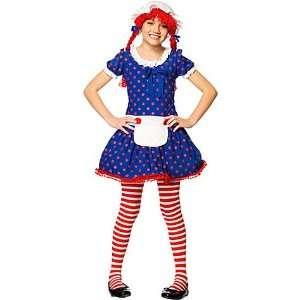 Rag Doll Costume Girl Toys & Games