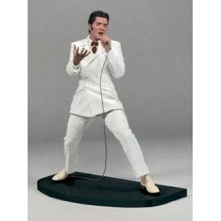 Elvis Presley Talking Action Figure Elvis Dressed in White Suit Coat