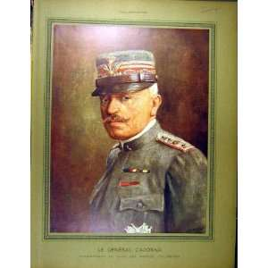 1916 Portrait General Cadorna Italian Army Commander
