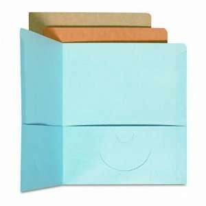 Smead® Recycled wo Pocke Porfolios, Card and Elecronic Media