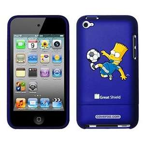 Soccer Bart Simpson on iPod Touch 4g Greatshield Case