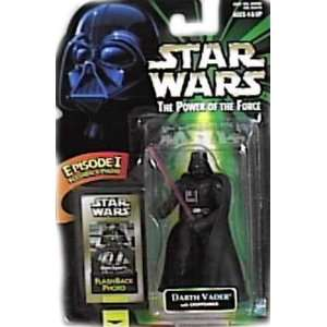 Power of the Force Flashback Darth Vader Action Figure with Lightsaber