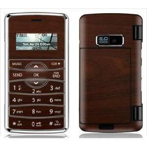 Maple Wood Grain Skin for LG enV2 enV 2 Phone Cell Phones