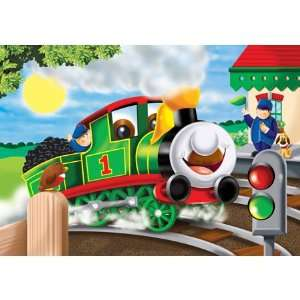 Train Jigsaw Puzzle 35pc Toys & Games