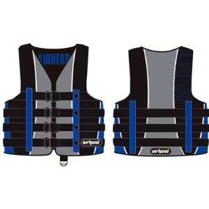 Kwik Tek Mens Pro Nylon Vest   Large Blue Sports