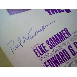 Sommer The Prize 1963 Sheet Music Signed Autograph: Home & Kitchen