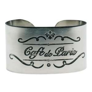 America Retold Café de Paris Napkin Rings (4) Kitchen