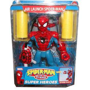 Spider Man & Friends Air Launch Spider Man: Toys & Games