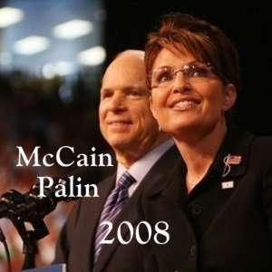button6, McCain, Palin, 2008   Customized Arts, Crafts