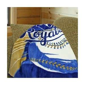 City Royals 50x60 Big Stick Super Plush Throw