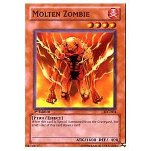 Invasion of Chaos Molten Zombie IOC 064 Common [Toy] Toys & Games