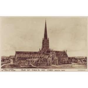 English Church London St Pauls Cathedral LD208