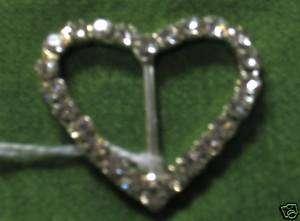 Heart Shaped Rhinestone Decoration for Wedding Bouquet