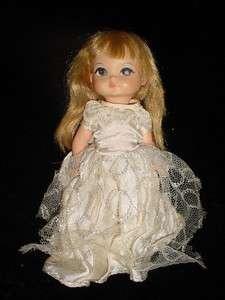 11 1960s 1965  Royal Doll Joy big painted eyes eyeshadow Blonde bangs