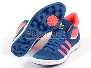 Adidas Top Ten Hi Sleek W Lone Blue/Turbo/Spray Originals 2011 F/W