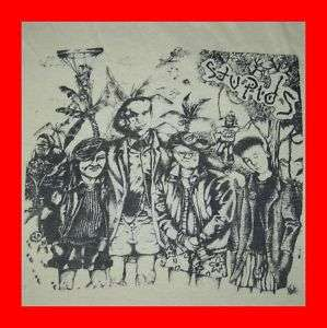 1985 THE STUPIDS VINTAGE TOUR T SHIRT hard ons punk jfa