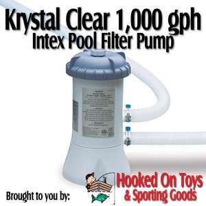GPH Pool Filter Pump #56637   For 15 Ft Easy Set & Metal Frame Pools