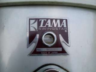 Vintage Tama Swingstar Drums 4 Drum Set