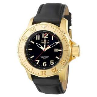 Invicta Mens F0058 Pro Diver Sport Collection GMT Gold Tone Watch