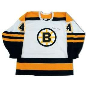 Boston Bruins NHL Hand Signed Authentic Style Home White Hockey Jersey