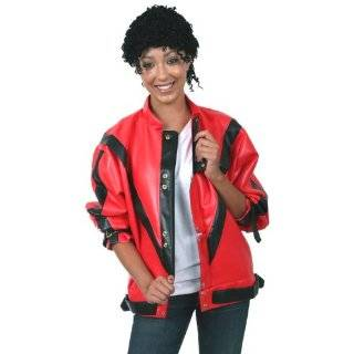 Adult Deluxe Michael Jackson Thriller Jacket (XL) Clothing