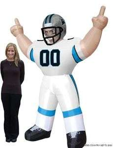 Carolina Panthers NFL Large 8 Ft Inflatable Football Player