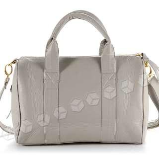 New Celebrity Stud Studded Bottom Brown Duffel Tote Bag