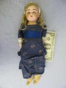 KESTNER 154 DEP c1895 Family Original Doll German Bisque Sleep Eyes