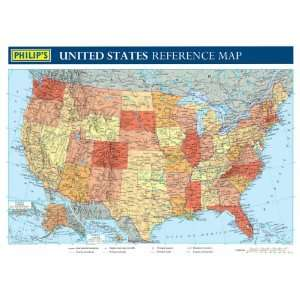 Philips United States Reference Map (Wall Map) (9780540087167) Books
