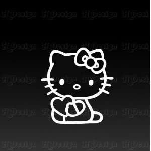 Hello Kitty valentine car, Truck Vinyl Decal Sticker