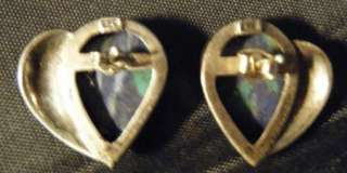 VERY COOL TURQUOISE,LAPIS,STERLING/MARCASITE,EARRINGS