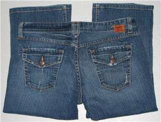 women Lucky Brand jeans Stretch Capri Crop 8 29 34 x 20