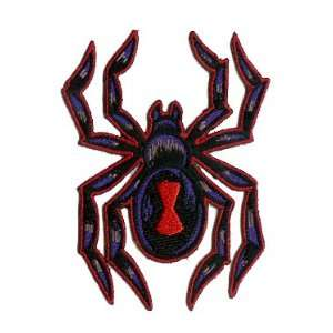 Patch   Poisonous Black Widow Spider RARE Arts, Crafts & Sewing