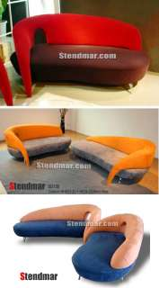 new modern funky design lounge chaise sofa custom made photo