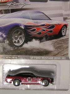 Hot Wheels 2012 Racing 69 FORD MUSTANG BOSS 302 Red & Black Muscle