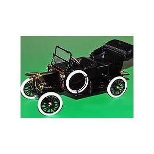 Franklin Mint 1/16 Ford Model T Convertible Black Toys