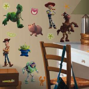 Disney 34 BiG TOY STORY 3 Wall Stickers Room Decor Decal BUZZ WOODY