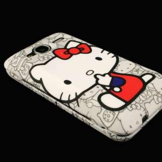 Case for HTC EVO Shift 4G Hello Kitty Hard Cover B Skin Faceplate Clip