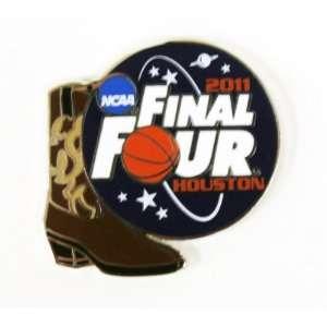 NCAA 2011 Final Four Cowboy Boot Pin