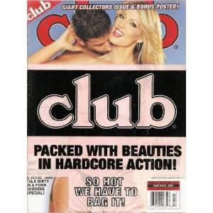 CLUB MAGAZINE NOVEMBER 2004 GINA LYNN, JESSIE JANE: Club: Books