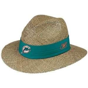 Reebok Miami Dolphins Training Camp Straw Hat Sports