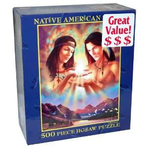 Native American Series 500 Piece Jigsaw Puzzle   Indian